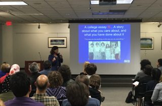 College Night at Ann Arbor District Library