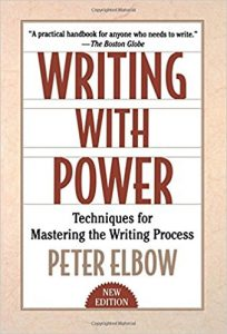 Writing With Power, by Peter Elbow. Book cover.